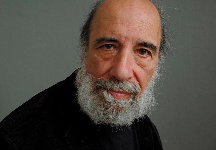 Foto de Raúl Zurita